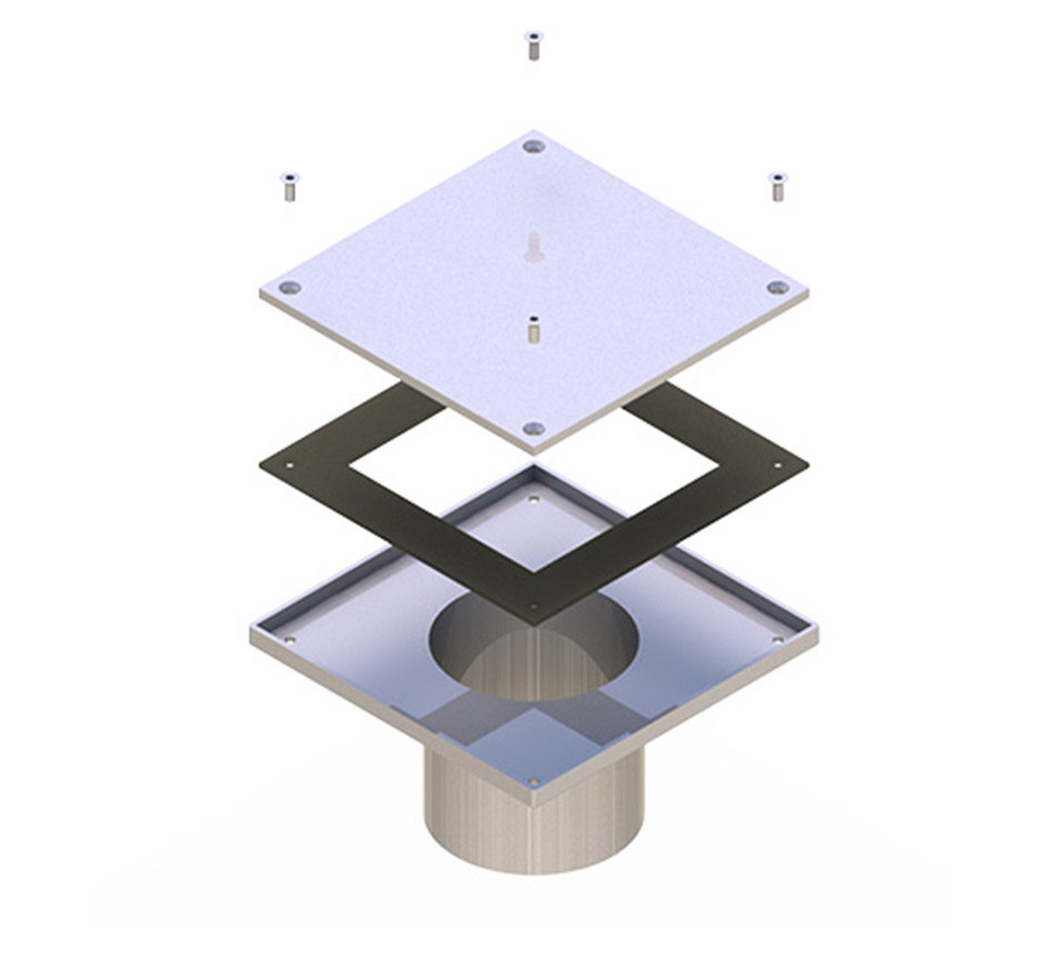 3D model of Stainless Steel Rodding Eye by Kent