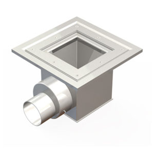 Model of Kent's Vinyl Floor Square Top Square Body Side Outlet