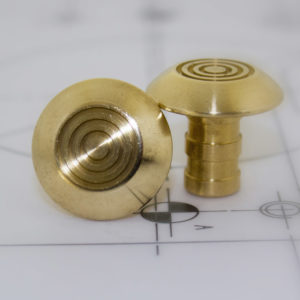 Close up of Kent tactile multi groove warning stud