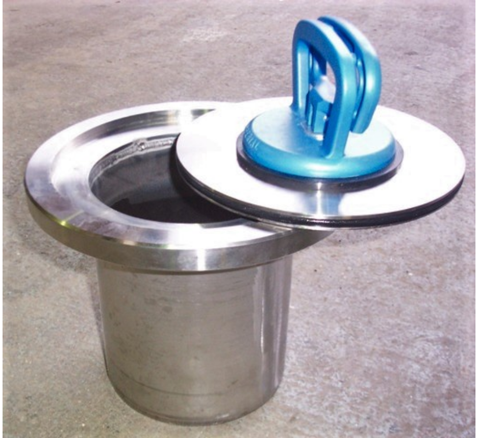 Cleanroom Gully round body round top